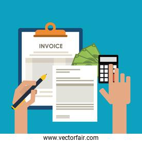 invoice and debt