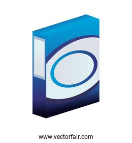 Clothes detergent in box
