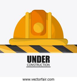 Under construction design. tool icon. Colorful illustration