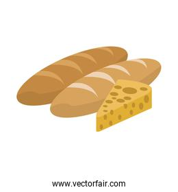 Breads and cheese