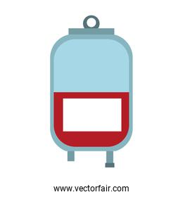blood bag isolated