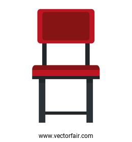 Simple chair isolated