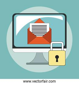 Secure mailing for computer