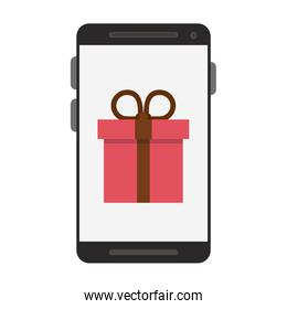 Buy gift from smartphone