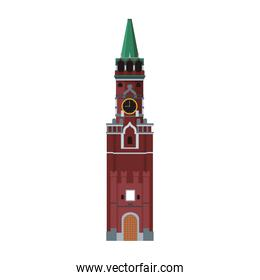 isolated kremlin tower building