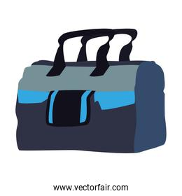 Sport bag isolated