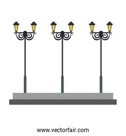 Street lights lamps