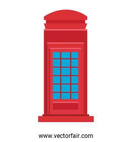 London red telephone cabin