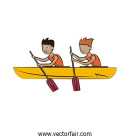 Rowing boat Water sport