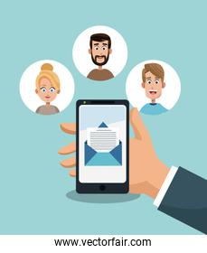 Email marketing and network