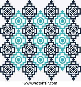 Tribal design. bue  abstract figure. vector graphic