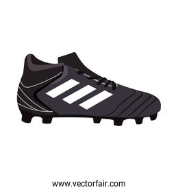 Soccer boot isolated