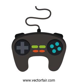 Console gamepad isolated