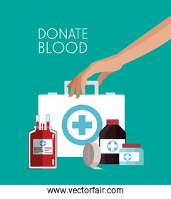 Donate blood campaign