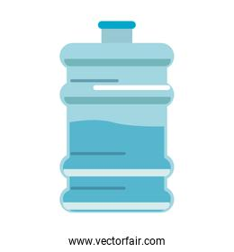 Water dispenser isolated