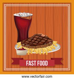 Fast food concept
