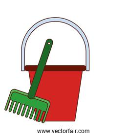 Sand bucket and tool toys