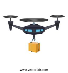 Drone with box