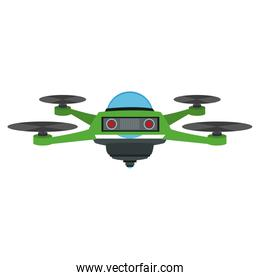 RC drone isolated