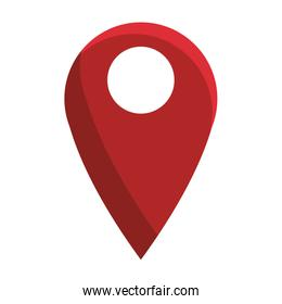 GPS location pin