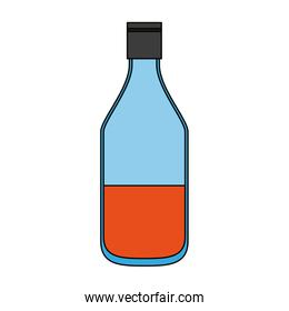 Drink bottle isolated