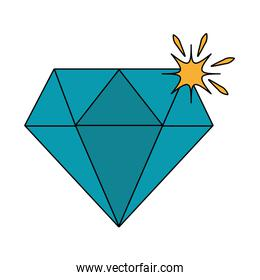 Luxury diamond symbol