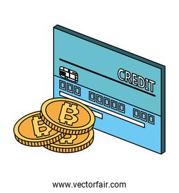 Credit card and bitcoins
