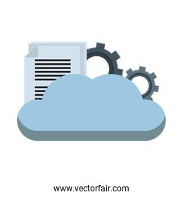 Cloud computing with gears and document