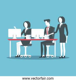 Business coworkers avatar