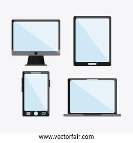 tablet smartphone laptop computer icon