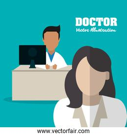 doctor medical health care icon