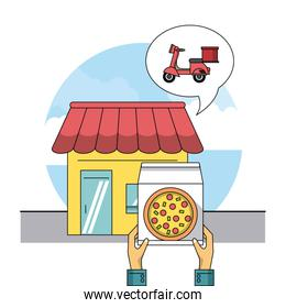 Restaurant and delivery