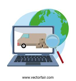 Delivery and logistics online