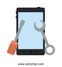 Smartphone with tools