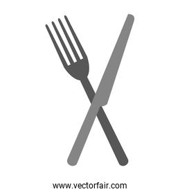 Fork and knife cutlery