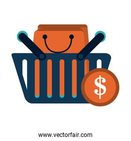 Shopping business concept
