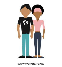 Young couple avatar