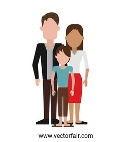 Parents with son