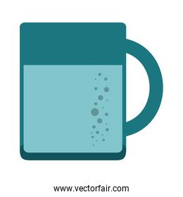 Water cup isolated