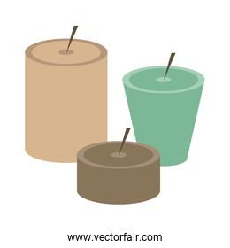 Set of candles
