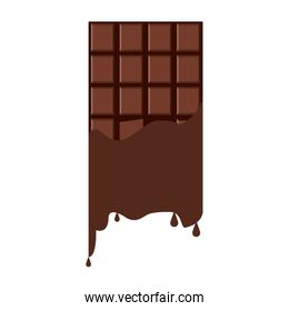 Delicious chocolate bar