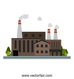 Factory on the street
