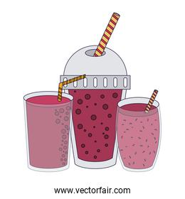Fruit juice and smoothie