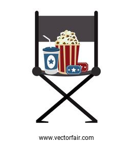 Cinema and movies concept