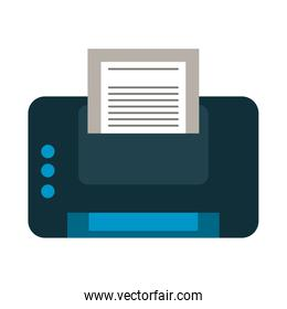 printer with document