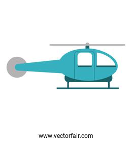 helicopter aircraft sideview