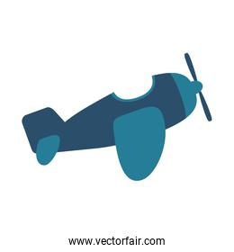 airplane baby toy isolated