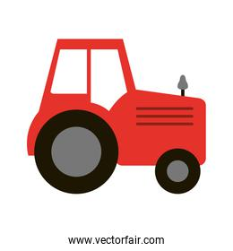 red farm tractor vehicle