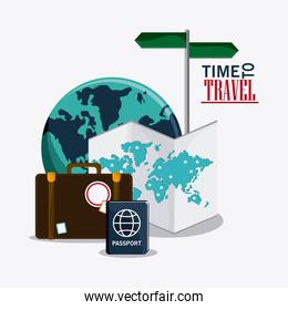 time to travel vacation baggage design