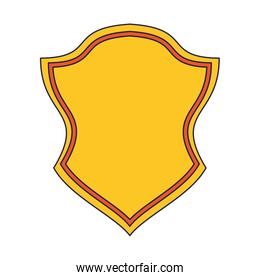 Badge emblem symbol cartoon